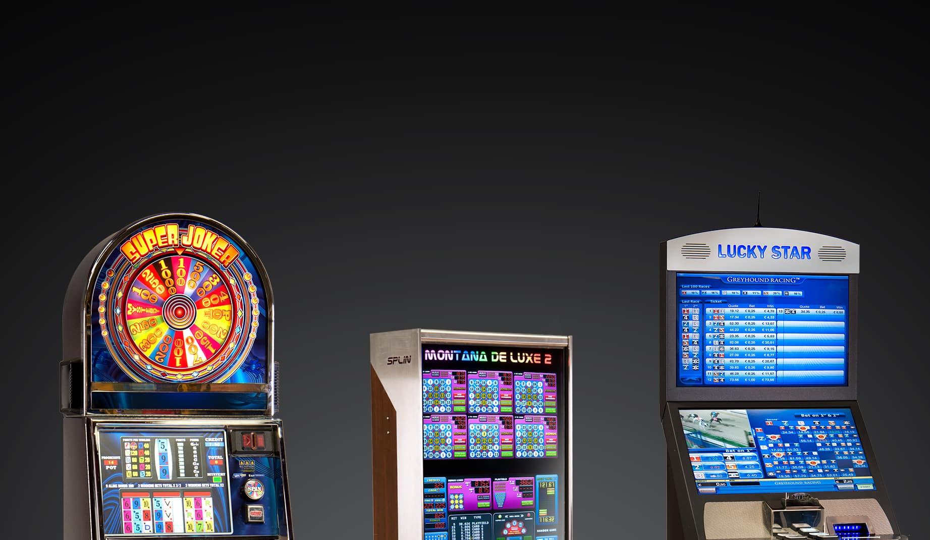 Overzicht speelautomaten - Lucky Star